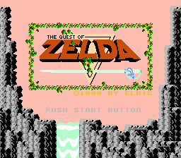 Quest of Zelda, The - Title. - User Screenshot